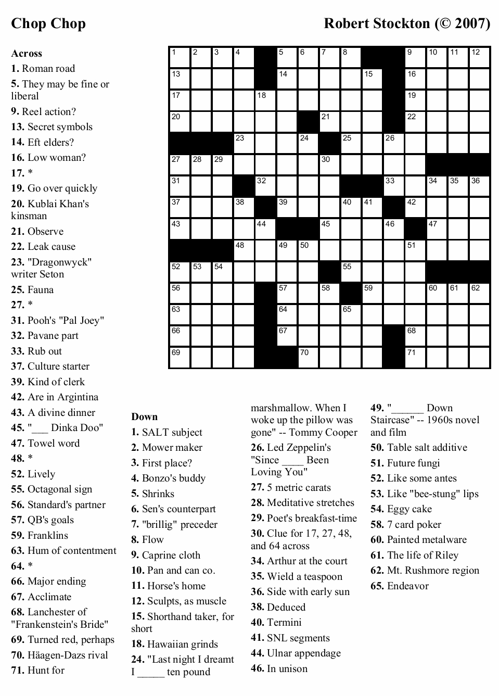 Coloring ~ Coloring Easy Printable Crossword Puzzles Large Print - Free Printable Crosswords Medium
