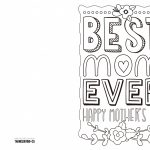 Coloring ~ Coloring Mothers Day Card Free Printable Cards To Color   Free Printable Cards To Color