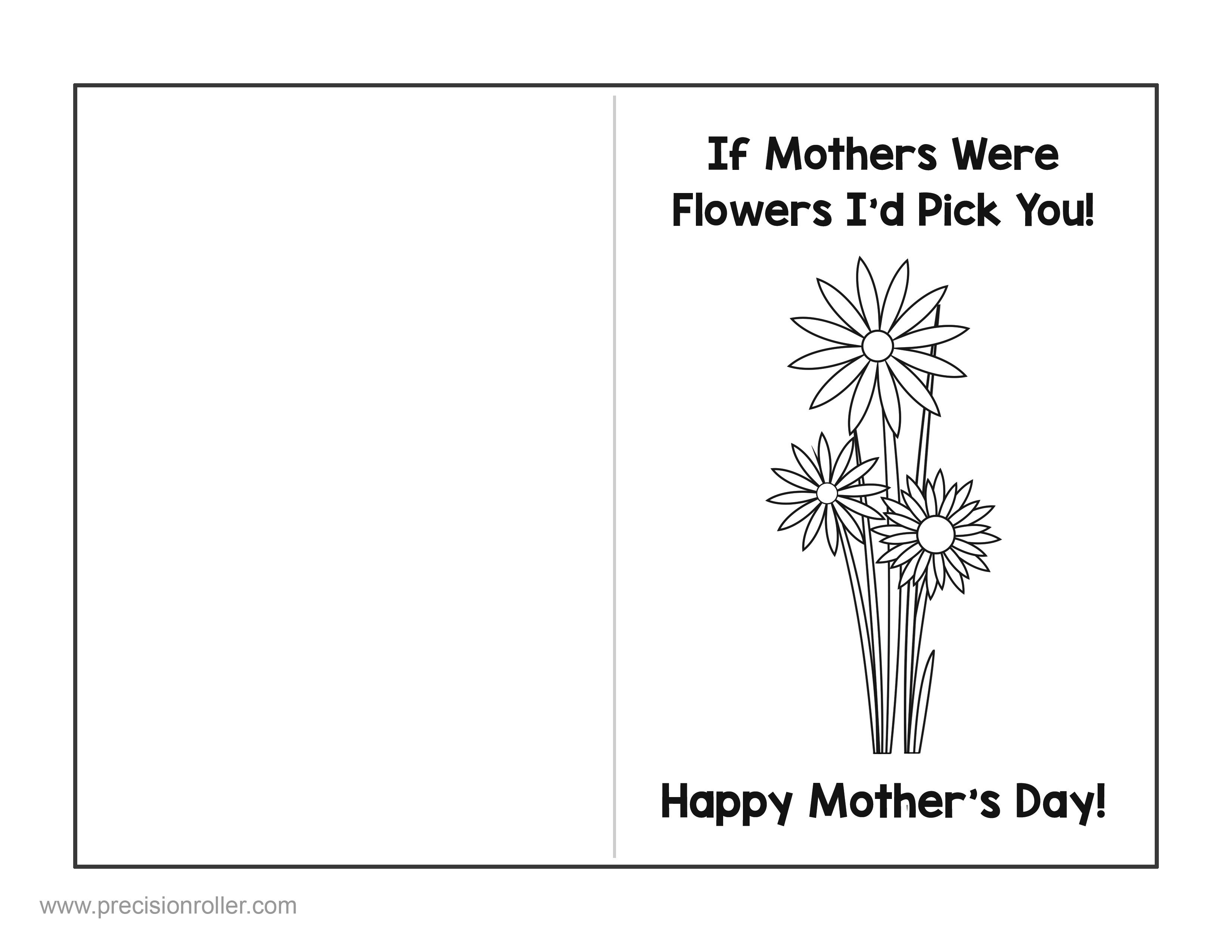 Coloring ~ Free Mothers Day Card Cards Gift And Craft Printable To - Free Printable Mothers Day Coloring Cards