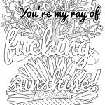Coloring Ideas : 1840D37706A73E0C394A077851E5964E Focus Free   Free Printable Coloring Pages For Adults Swear Words