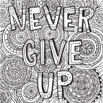 Coloring Ideas : Free Printable Quotes Coloring Pages Best Fresh   Free Printable Inspirational Coloring Pages