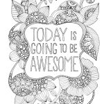Coloring Ideas : Inspirational Quotes Coloring Pages Positivelegant   Free Printable Inspirational Coloring Pages