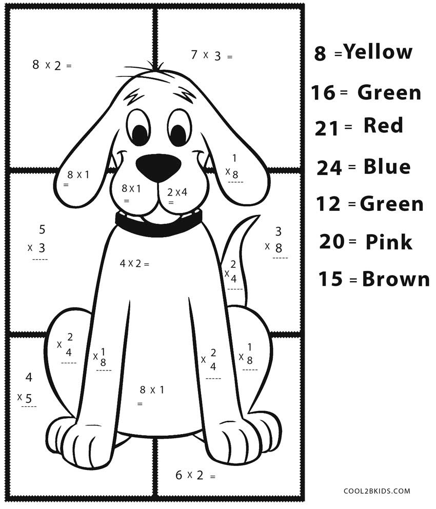 Coloring Ideas : Multiplicationing Worksheets Free Printable Math - Free Printable Math Coloring Sheets