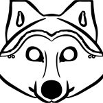 Coloring Ideas : Phenomenal Free Wolf Coloring Pages Printable   Free Printable Wolf Face Mask