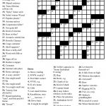 Coloring ~ Large Print Crosswordsthomas Joseph Printable   Free Daily Online Printable Crossword Puzzles