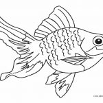Coloring Page ~ Free Printable Fish Coloring Pages For Kids   Free Printable Fish Coloring Pages