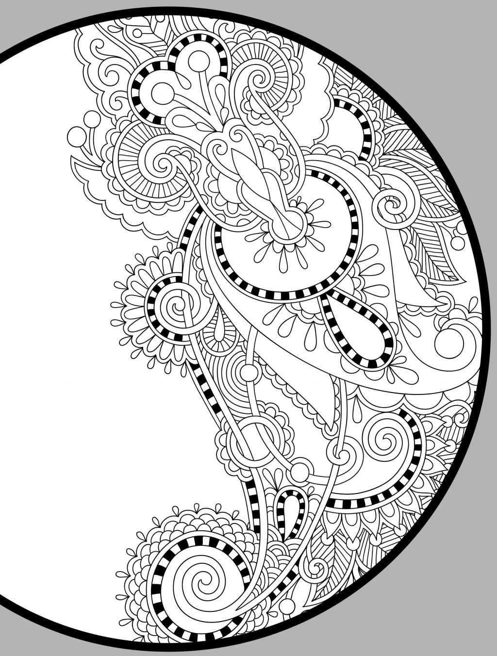 Coloring Page ~ Free Printable Holiday Adult Coloring Pages Page - Free Printable Coloring Pages For Adults Pdf