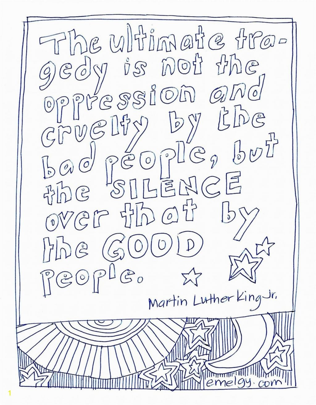 Coloring Page ~ Outstanding Colorings To Color Martin Luther King Jr - Martin Luther King Free Printable Coloring Pages