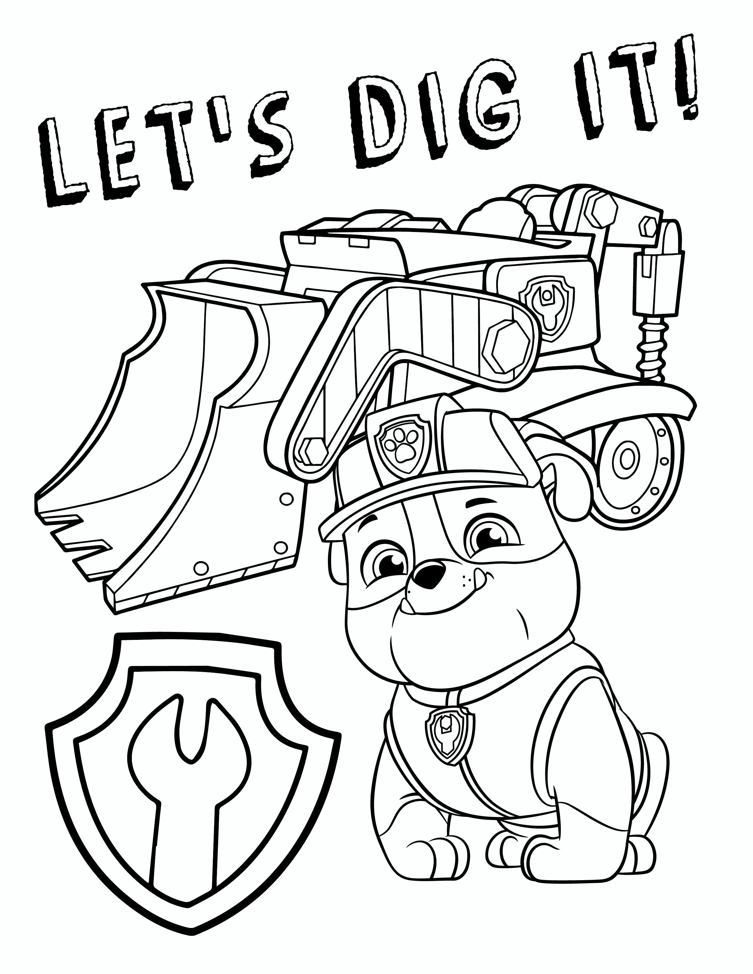 Coloring Pages : Chase Paw Patrol Coloring Page Sheet New Free Pages - Free Printable Paw Patrol Coloring Pages