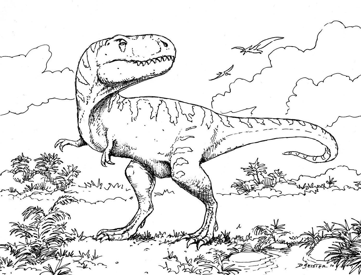 Coloring Pages : Coloring Pages Fabulous Dinosaurs Lego Games - Free Printable Dinosaur Coloring Pages