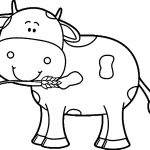Coloring Pages: Kindergarten Coloring Free Cow Learning Printable   Coloring Pages Of Cows Free Printable