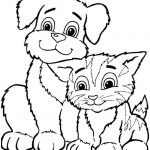 Coloring Sheets Animal Dogs Printable Free For Kids & Boys 8106   Free Printable Animal Coloring Pages