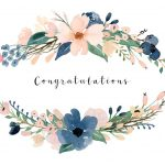 Congratulations Card Printable {Free Printable Greeting Cards} | Cards   Free Printable Wedding Shower Greeting Cards
