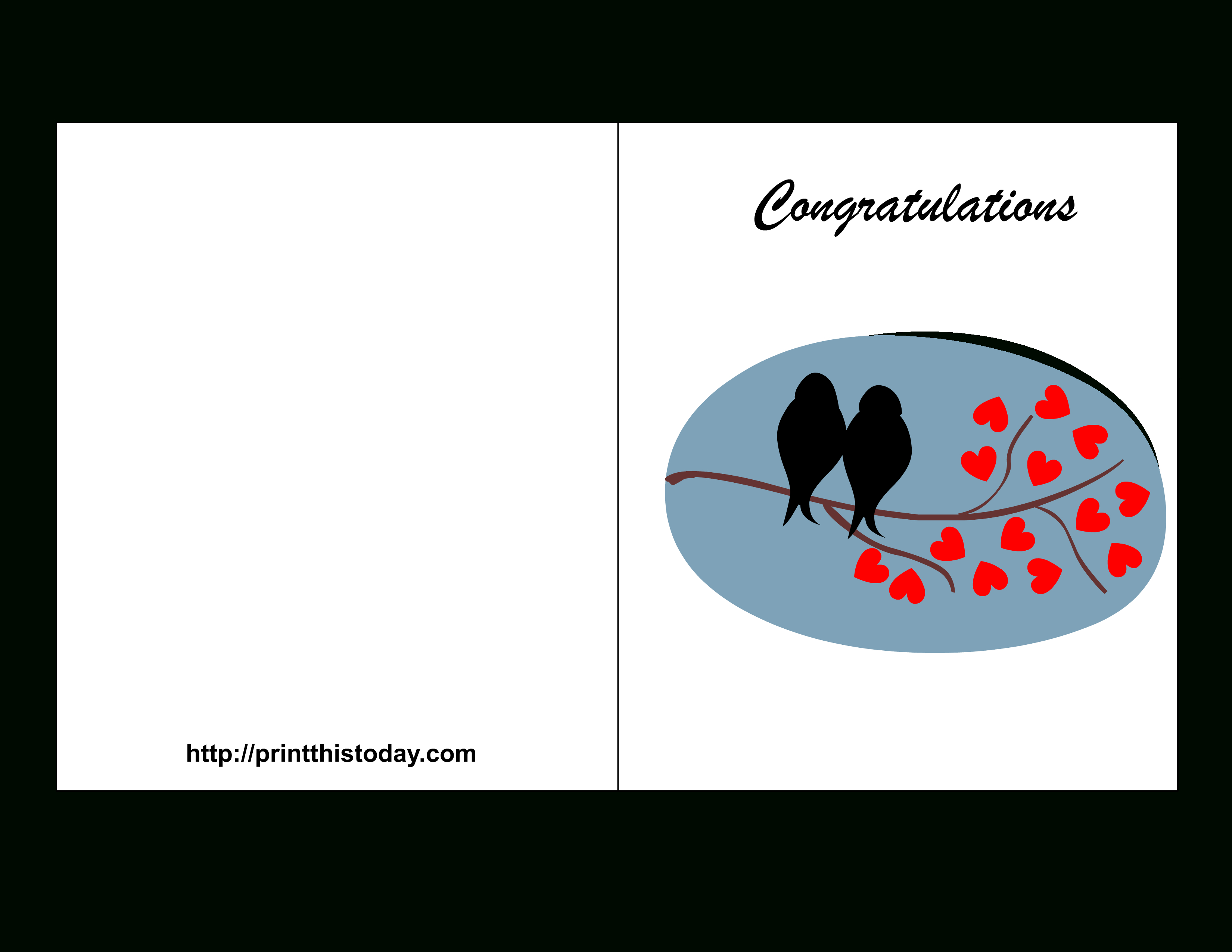 Congratulations Card To Print - Demir.iso-Consulting.co - Free Printable Congratulations Cards