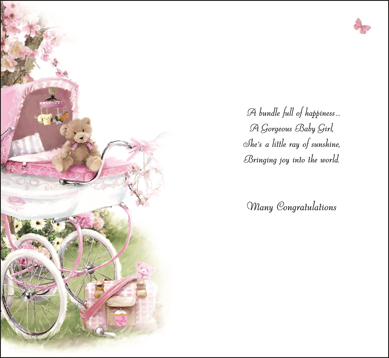Congratulations On Baby Girl Card - Demir.iso-Consulting.co - Congratulations On Your Baby Girl Free Printable Cards