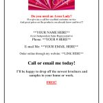 Contact Me Angie Rettig Avon Independent Representative At (941) 822   Free Printable Avon Flyers