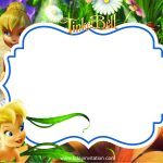 Cool Free Printable Disney Tinkerbell Birthday Invitation Template   Free Tinkerbell Printable Birthday Invitations