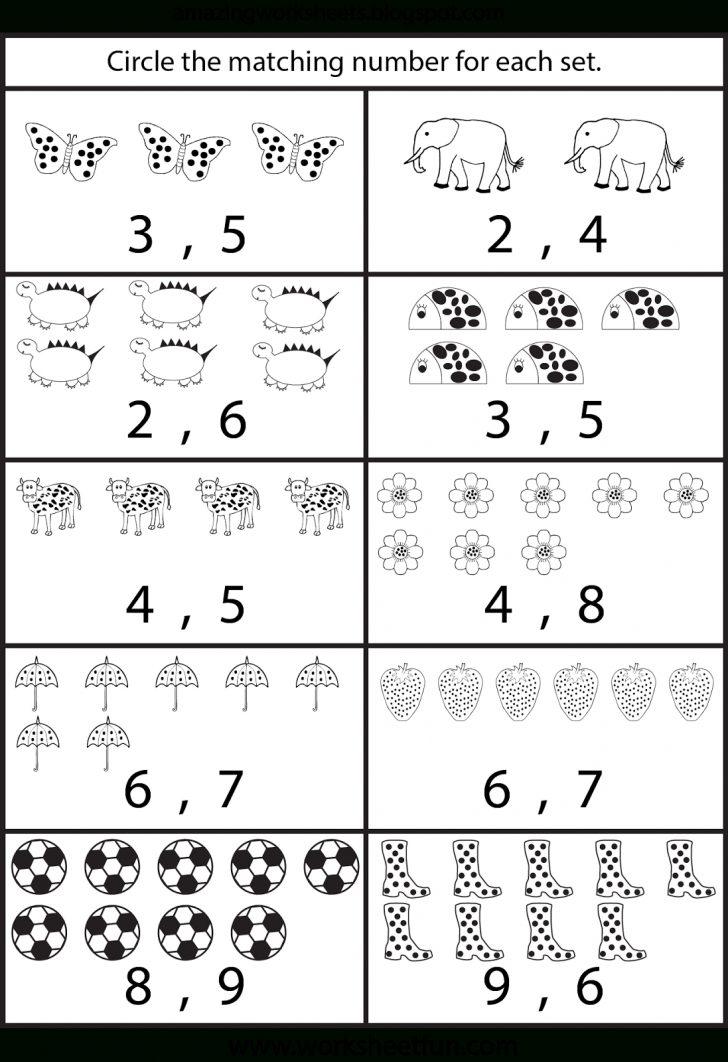 Free Printable Counting Worksheets
