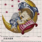 Cross Stitch Patterns Free Printable | How To Cross Stitch! & Happy   Free Printable Cross Stitch Patterns Angels