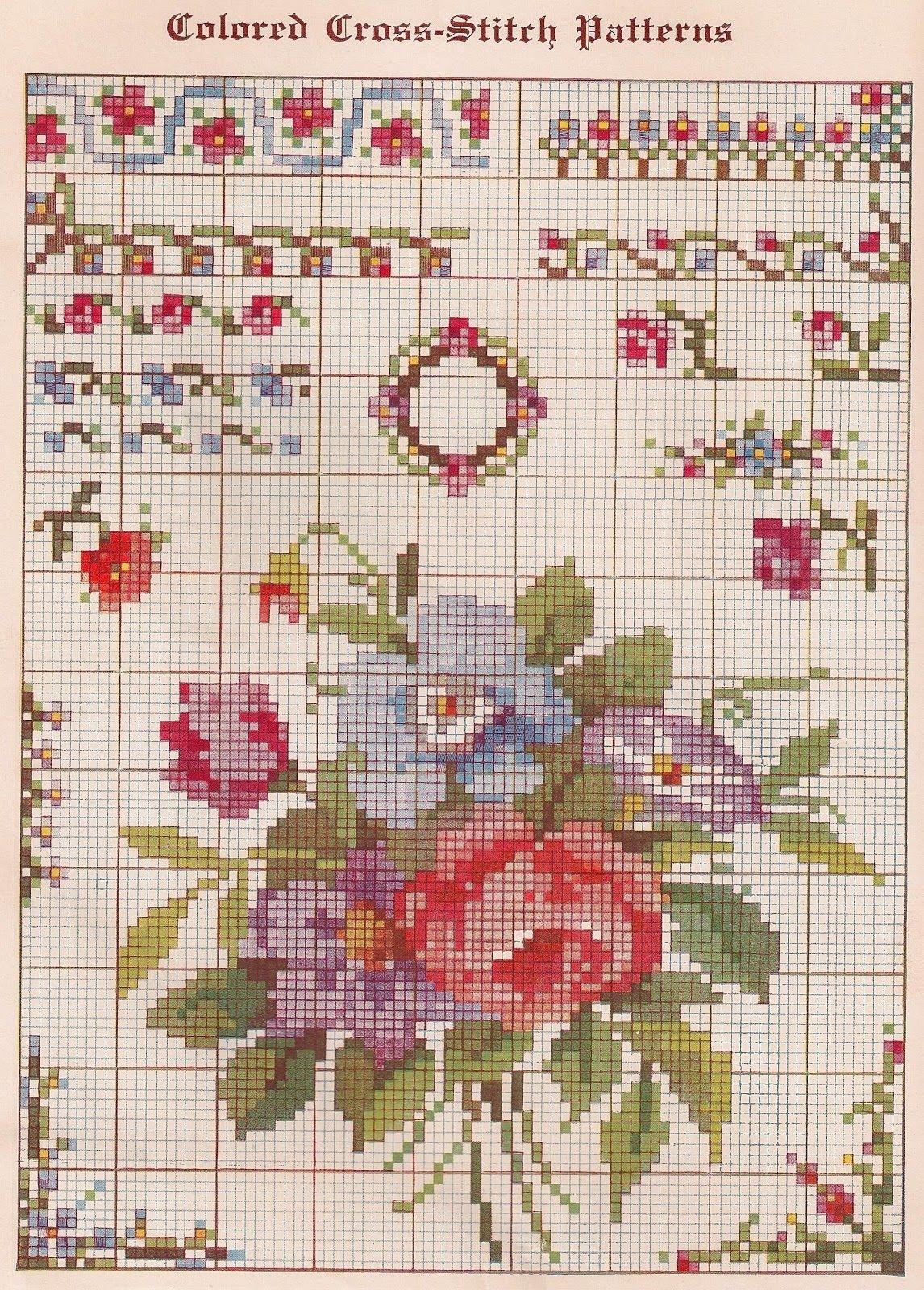 Cross Stitch Patterns Free Printable | Sentimental Baby: Free - Needlepoint Patterns Free Printable