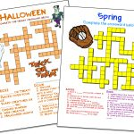 Crossword Puzzle Maker | World Famous From The Teacher's Corner   Free Make Your Own Crosswords Printable