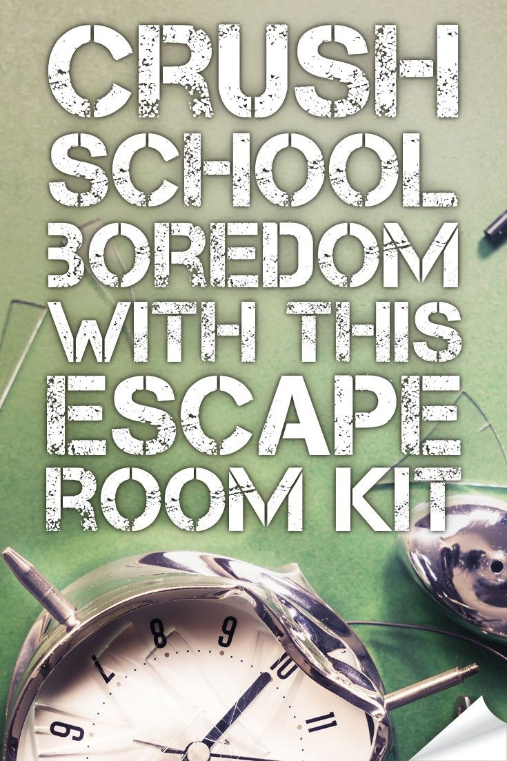 Crush Classroom Boredom With This Hack. | Middle School Language - Free Printable Escape Room Game
