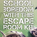 Crush Classroom Boredom With This Hack. | Middle School Language   Printable Escape Room Free