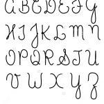 Cursive Lettering Alphabet Capital Letters Alphabet Cursive Free   Free Printable Cursive Alphabet