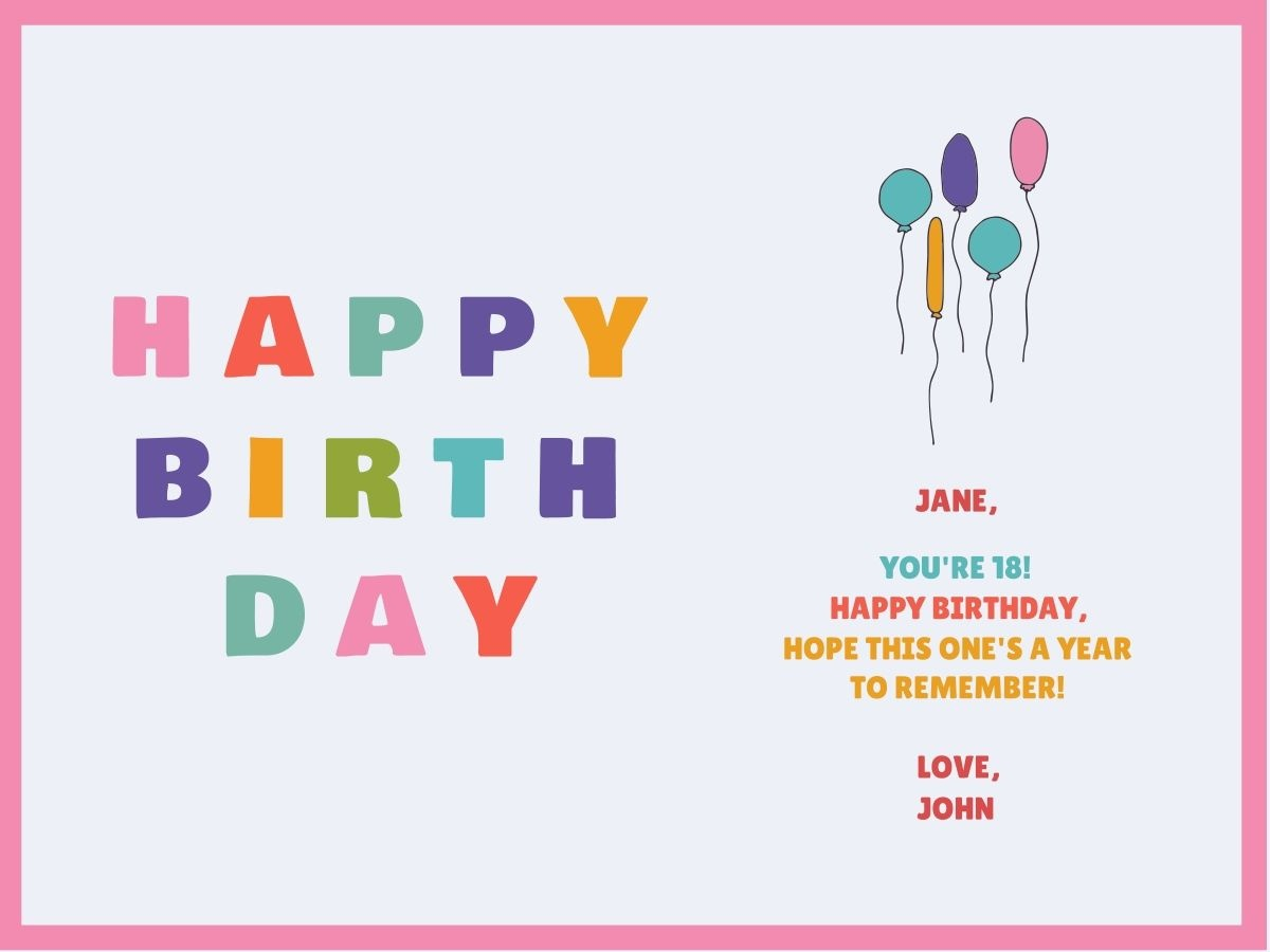 Customize Our Birthday Card Templates - Hundreds To Choose From - Make Your Own Printable Birthday Cards Online Free