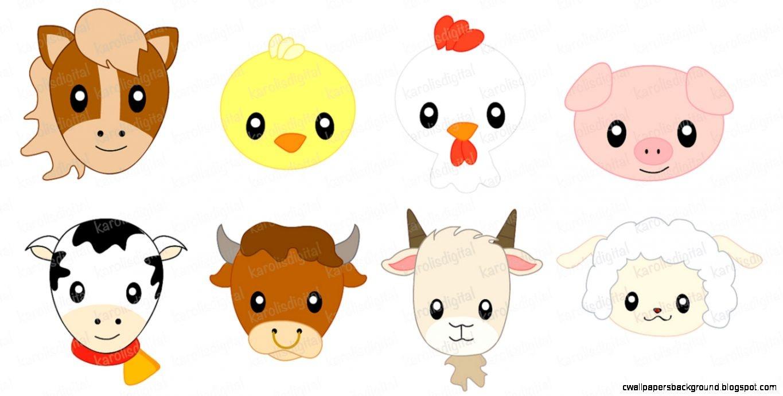 Cute Farm Animals Clipart | Free Download Best Cute Farm Animals - Free Printable Farm Animal Clipart