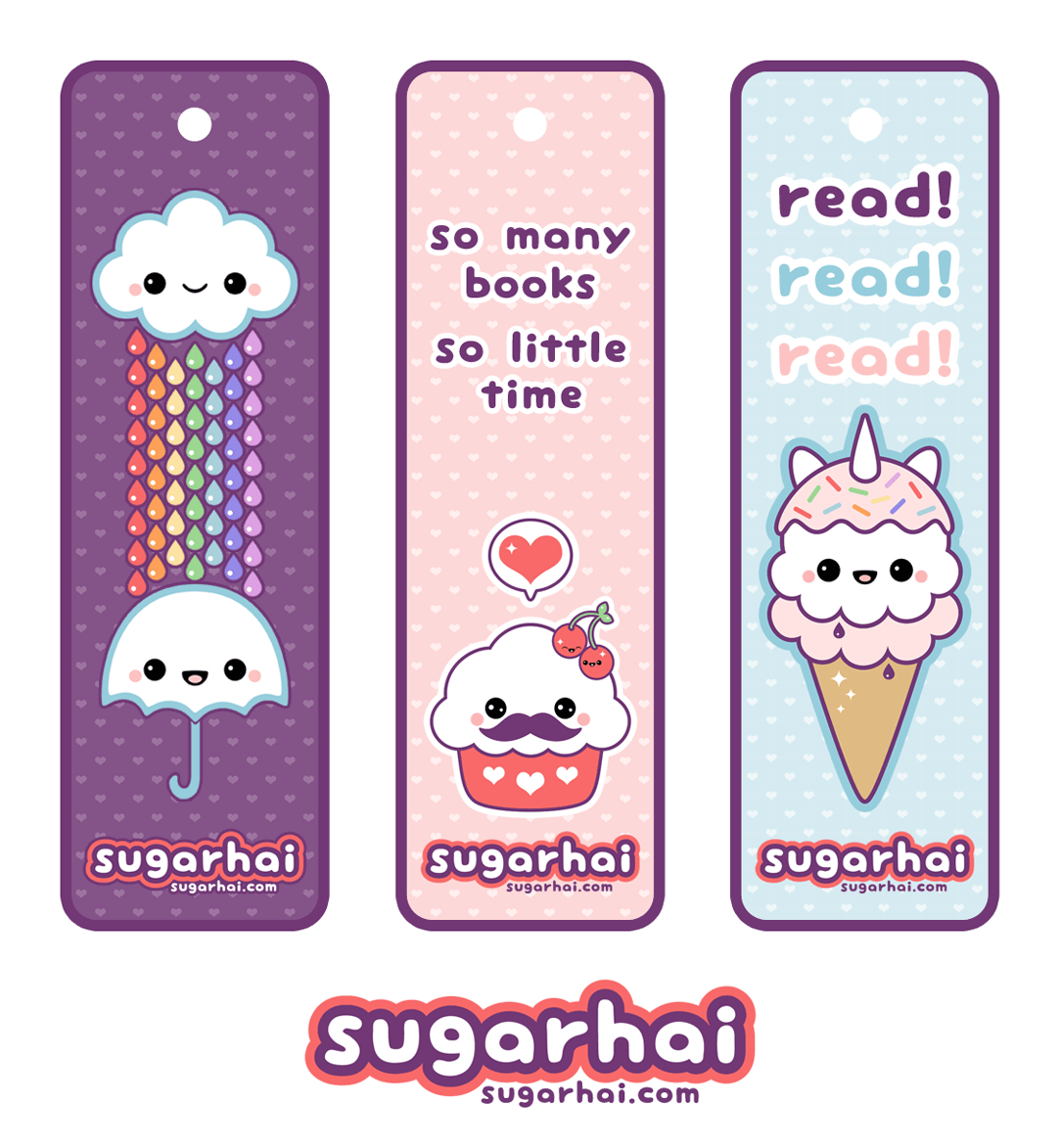 Cute Printable Bookmarks   I Want   Cute Bookmarks, Creative - Anime Bookmarks Printable For Free