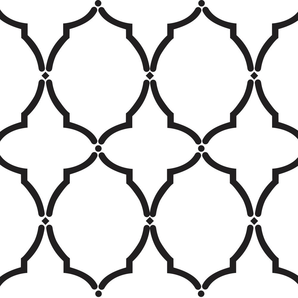 Damask Stencil Printable Free   Simply Awesome Stencils   Stencils - Free Printable Moroccan Pattern