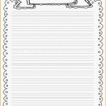 Decorative Border Lined Paper | Vectorborders   Free Printable Writing Paper With Borders