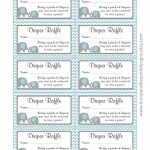 Diaper Raffle Tickets Free Printable   Yahoo Image Search Results   Diaper Raffle Free Printable
