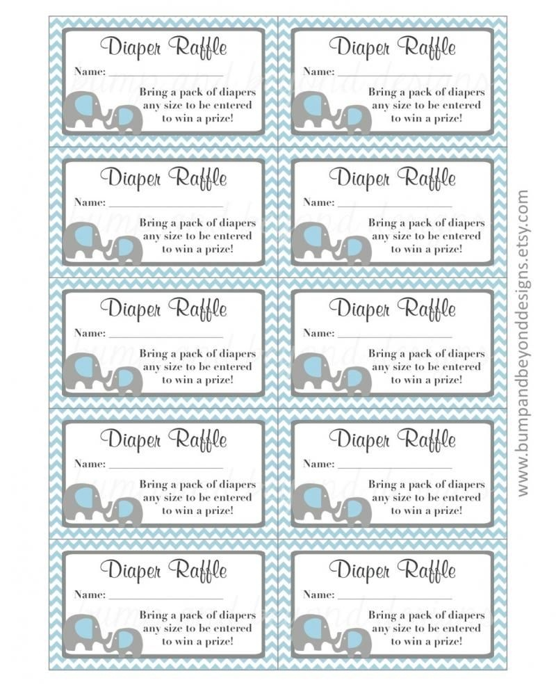Diaper Raffle Tickets Free Printable - Yahoo Image Search Results - Free Printable Diaper Raffle Ticket Template