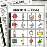 Digraph And Blend Chart   Playdough To Plato   Free Printable Ch Digraph Worksheets