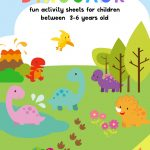 Dinosaur Activity Sheets For 3 5 Years Old | Free Printable Pack   Free Printable Activities For 6 Year Olds