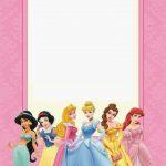 Disney Princess Party: Free Printable Mini Kit. | Free Printables   Free Printable Princess Invitation Cards