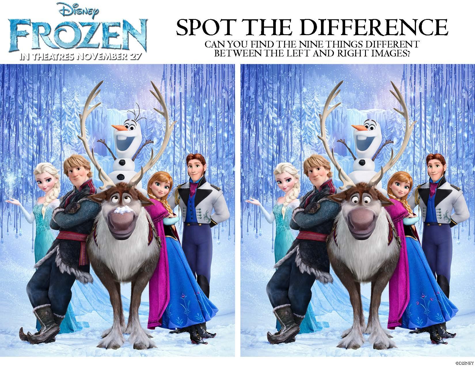 Disney's Frozen: Printable Activities And Games For Kids - Free Printable Disney Stories
