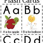 Diy Alphabet Flash Cards Free Printable | Plays | Preschool Learning   Free Printable Alphabet Flash Cards