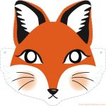 Diy Fox Printable Mask For Kids   Clipart Drawer | Diy | Printable   Free Printable Fox Mask Template