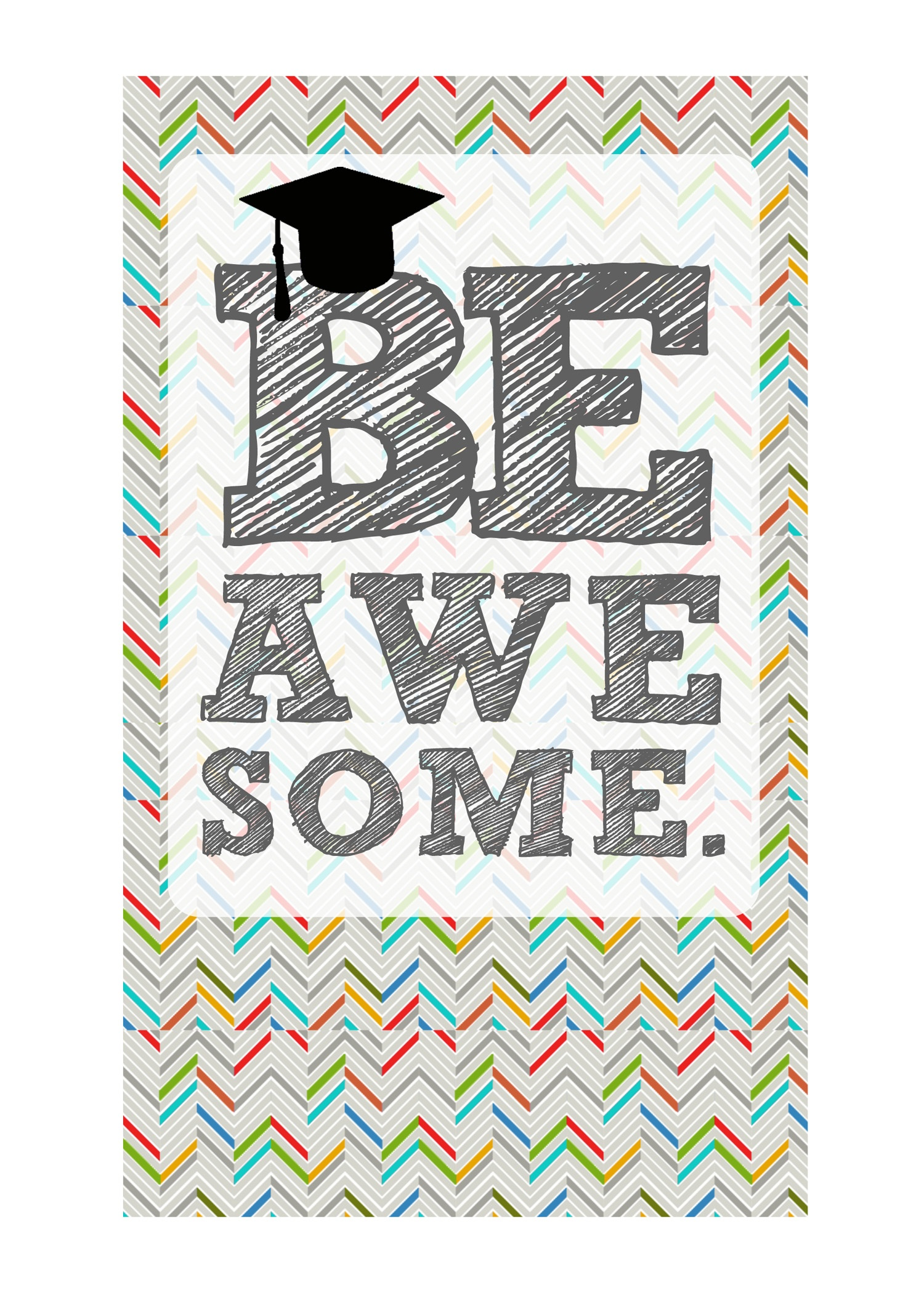 Diy Printable Graduation Cards–'omg' & 'be Awesome' - Graduation Cards Free Printable Funny