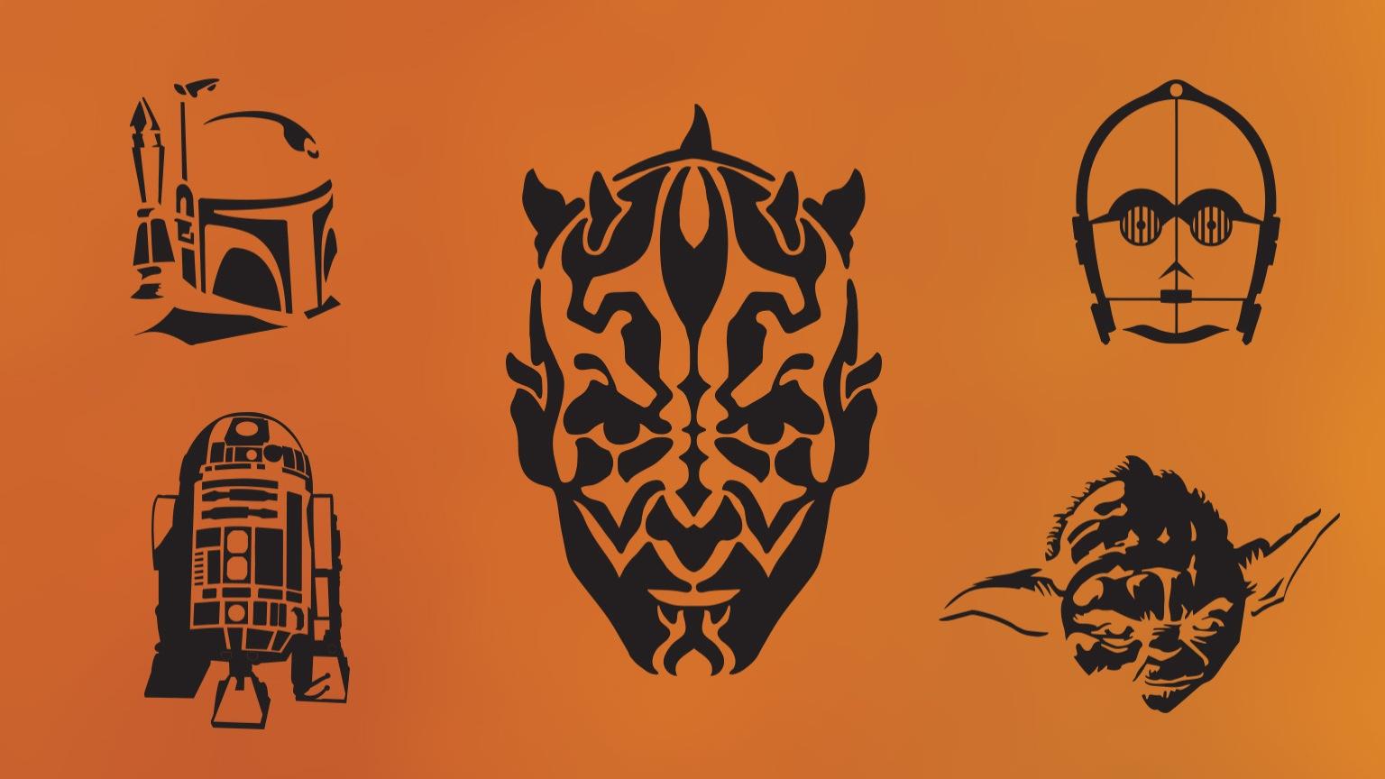 Diy Star Wars Pumpkin Stencils   Starwars - Star Wars Pumpkin Stencils Free Printable