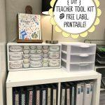 Diy Teacher Tool Box And Free Printable Drawer Labels! | Teach   Free Printable Teacher Toolbox Labels