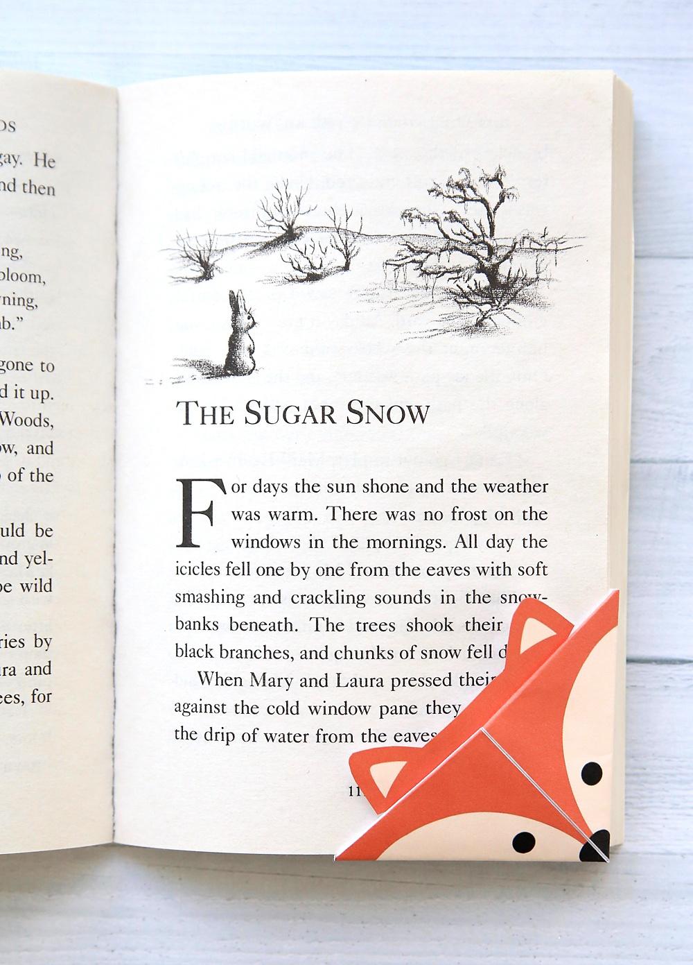 Diy Woodland Animals Origami Bookmarks {Print + Fold} - It's Always - Free Printable Bookmarks Templates