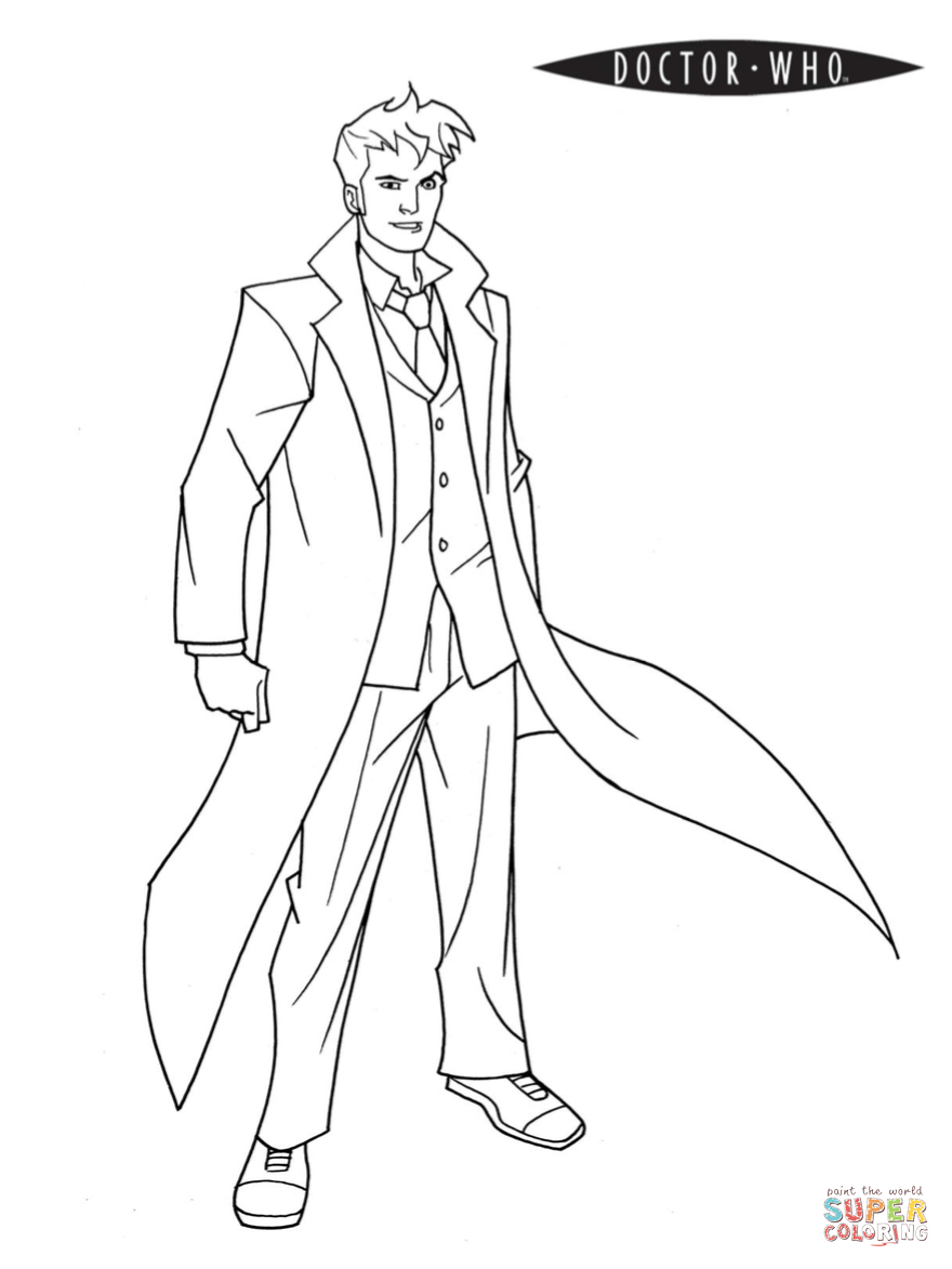 Doctor Who Coloring Page   Free Printable Coloring Pages - Doctor Coloring Pages Free Printable