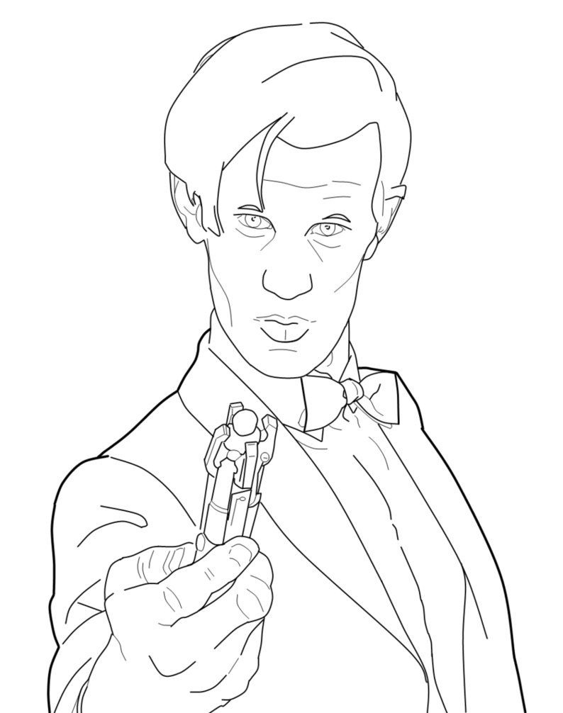 Doctor Who Coloring Pages   Fun Crafts   Coloring Pages, Doctor Who - Doctor Coloring Pages Free Printable