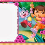 Dora The Explorer: Free Printable Invitations And Party Printables   Dora The Explorer Free Printable Invitations