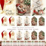 Download Free Printable Vintage Christmas Gift Tags For Holiday   Free Printable Vintage Christmas Tags For Gifts