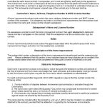 Download Home Improvement Contract Style 18 Template For Free At   Free Printable Home Improvement Contracts